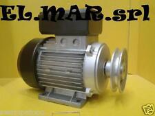 Motore Elettrico HP 3 Kw 2,2 Giri 2800 Mec80 Monofase + Puleggia Compressore
