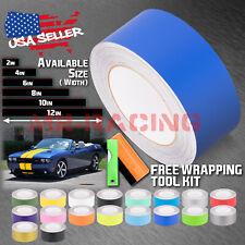 Matte Racing Stripes Vinyl Wrap Sticker For Dodge Challenger Stripe 25FT / 50FT