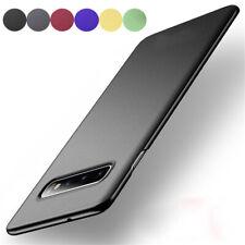 For Samsung Galaxy S10 S9 S8 + S7 Edge Ultra Slin Hard Case Sandstone Cover Skin