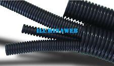 75 metros TUBO 25mm Corrugado PVC FLEXIBLE NEGRO M-25,  para cable electrico