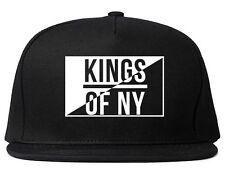 Kings Of NY Half Logo Square Printed Snapback New York Style Style Streetwear LA