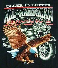 Biker t-shirt aigle + Bike taille s, m, rocker AMERCAN MOTORCYCLE, rocker, moto