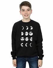 Disney niños Nightmare Before Christmas Jack Moon Camisa De Entrenamiento