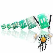 10 Stück Adapterplatinen SOP20 SOIC20 auf DIP20 SMD SSOP20 TSSOP20 IC-Sockel DIP