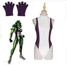 Super Hero She Hulk Cosplay Costume She-Hulk Jumpsuit Halloween Outfit N9.2
