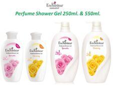 Enchanteur Perfume Shower Bath Gel Body Wash 250 & 550ml Charming Romantic Scent
