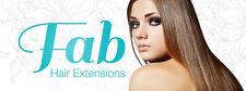 """FAB Estensioni Capelli Testa Completa 18 """"REMY capelli (100% capelli umani)"""