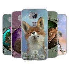 OFFICIAL ASH EVANS ANIMALS SOFT GEL CASE FOR HUAWEI PHONES 2