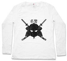 SAMURAI MEIYO DAMEN LANGARM T-SHIRT Samurai Ninja Japan Warrior Sword Dakana
