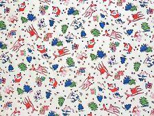 Santa Presents Tree Billie Bambi, Cath Kidston 100% Cotton Duck Fabric per metre