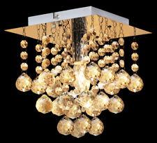 Modern LED Crystal Droplet Chandelier Style Ceiling Light Decoration Lamp M0018