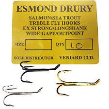 Fly Tying Barbless Salmon Sea Trout Hook #4 EA//NRW byelaw compliant