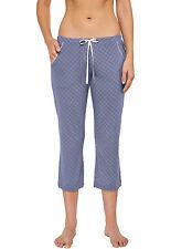 SCHIESSER Damen Mix & Relax Hose 3/4 Pyjamahose Schlafhose Gr. 38-48 M-4XL NEU