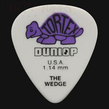 Dunlop Tortex Wedge Guitar Picks Plectrums 1.14mm Purple - 6 10 12 20 24 or 36