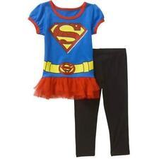 DC Comics Supergirl 2 PC Short Sleeve Tunic Leggings Set Girl Size 5T