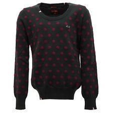 2117T maglione bimba SUN 68 cotone/cashmere verde sweater kid