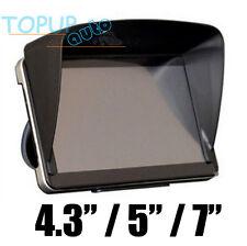 "4.3"" / 5"" / 7"" INCH GPS SAT NAV SUN SHADE VISOR SCREEN CAR BLIND BLOCKER COVER"