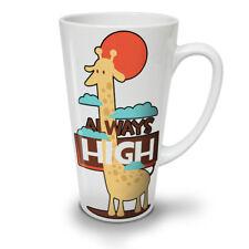 Giraffa Alta sempre nuove Tè Bianco Tazza Da Caffè Latte Macchiato 12 17 OZ | wellcoda
