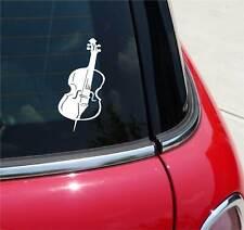 CELLO CELLIST MUSIC ORCHESTRA GRAPHIC DECAL STICKER ART CAR WALL DECOR