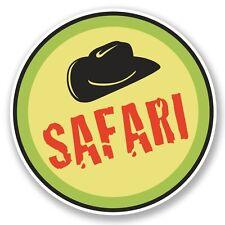 2 x Safari Vinyl Sticker Laptop Travel Luggage #4615