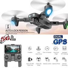 Faltbare Drone Dual GPS WIFI FPV 1080P 120° Weitwinkel HD Kamera RC Quadcopter