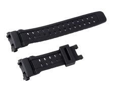 Black Silicone Rubber Watch Band Strap For CASIO G Shock GW9000-1V, GW9000A-1V