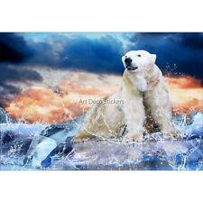 Stickers muraux déco : Ours polaire 1533
