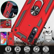 For Samsung Galaxy A70 A50 A40 A30 A20 A10 A10E Case Shockproof Armor Ring Cover