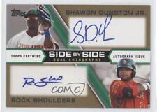 2013 Topps Pro Debut #SBS-DS Shawon Dunston Jr Rock Shoulders Boise Hawks Auto