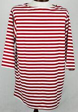 Pirate Shirt Clown/ Xmas Elf Red & White Stripe Multi Use Costume Shirt