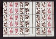 Germania 1972-4 prevenzione 10 +30 blocco di 40
