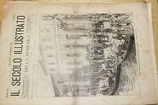 [BTR] IL SECOLO ILLUSTRATO DELLA DOMENICA 1898 458 IMPERIALI TEDESCHI A VENEZIA