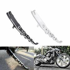 Motobiker Motorcycle Chrome Billet CNC Aluminum Polished Exotic Long Kickstand