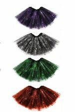 Halloween Tutu 3 Layers Ladies Girls Tutu Skirt Fancy Skirts Dress Up Hen Party