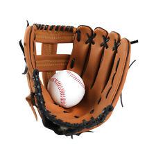 Kids/Adults Professional Baseball Catcher Glove Softball Mitts Hand Training