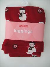 Gymboree NWT ALPINE SWEETIE Legging Pant Snowman 2 2T