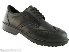 Tomcat Brooklyn TC500 S3 Black Steel Toe Cap Oxford Brogue Safety Work Shoes ESD