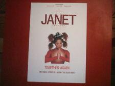 "JANET JACKSON - PLAN MEDIA / PRESS KIT ""TOGETHER AGAIN"