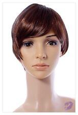 Bob Style Short Ladies Wig Black Brown Blonde Lady Wig