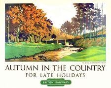 Vintage British Railways Exmoor Railway Poster A3/A2/A1 Print