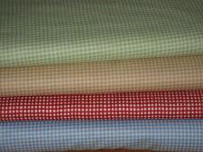 50 cm Makower Tissu Patchwork Vichy #920,diverses couleurs,à carreaux,à carreaux
