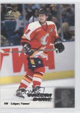 1999-00 Pacific Omega #35 Valeri Bure Calgary Flames Hockey Card