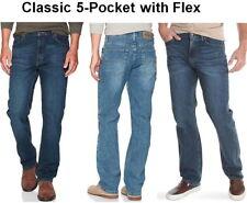 Men's Wrangler Authentics Classic 5-Pocket Regular Fit Jean with Flex