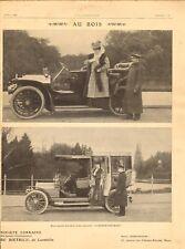 1906 Publicite Automobile LORRAINE DIETRICH