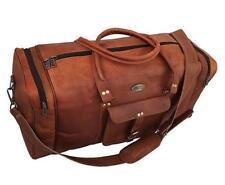 Bag Leather Travel Duffle Weekend Men Gym Holdall Luggage Vintage 76 CM Genuine