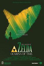 RGC Huge Poster - Legend of Zelda Ocarina of Time 3D Nintendo 3DS N64 - ZEL046