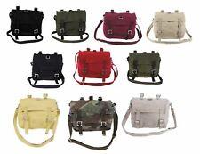 Tasche Umhängetasche BW Kampftasche Kinder Baumwolle Canvas Kindergarten Bag US