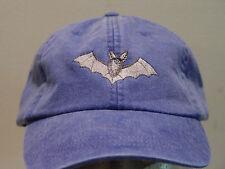 BAT HAT LADIES MEN WILDLIFE BASEBALL CAP - Price Embroidery Apparel