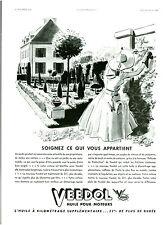 """Publicité Ancienne """" Huile VEEDOL soignez ce qui vous appart   """" 1938 (  P 14 )"""