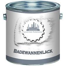 Lausitzer Farbwerke Badewannenlack GFK Badewannenbeschichtung SET Weiß